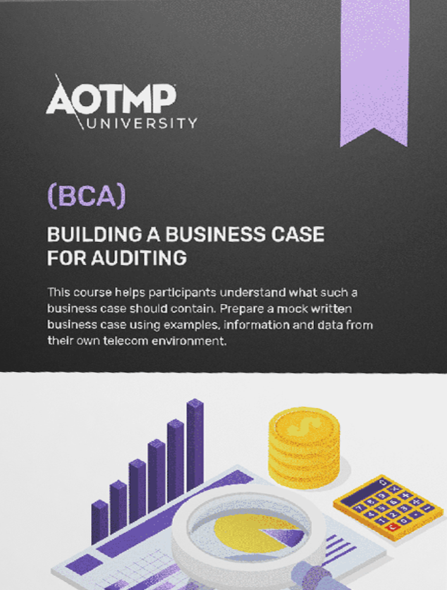 Bca Building A Business Case For Auditing Aotmp